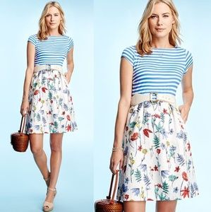 J. McLaughlin Colleen Striped Floral Dress